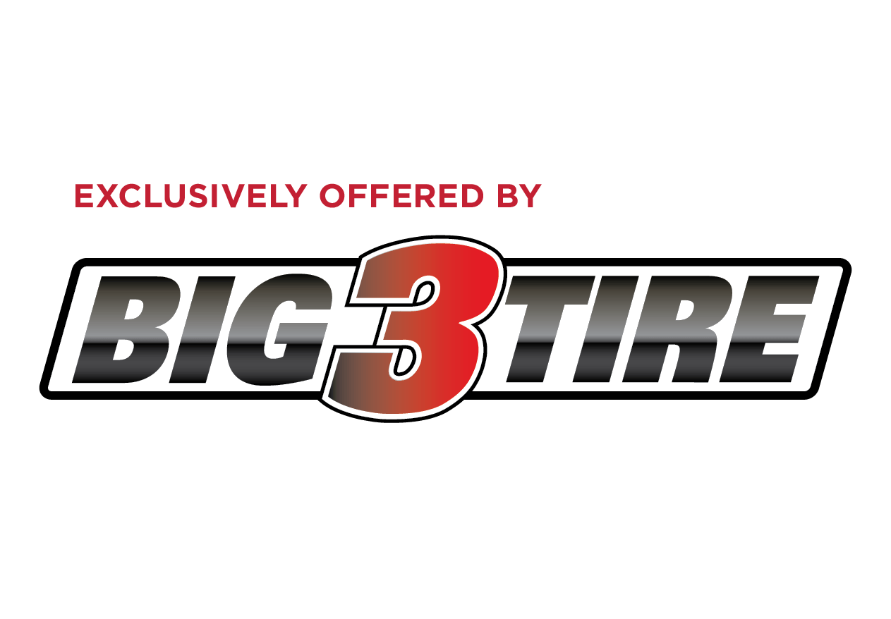 Exclusively offered by Big-3-Tire