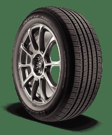 N-priz AH5 tire photo from an angle